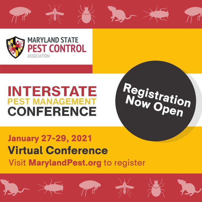 Maryland State Pest Control Association to Host 2021 Virtual Interstate Pest Management Conference